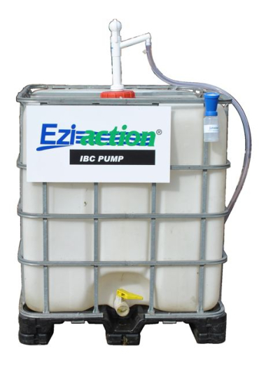 Ezi-action® Pump for IBC with tube and non-siphon check valve
